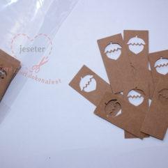 štítky z pratelného papíru